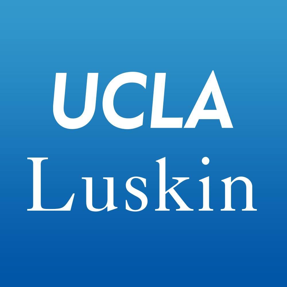 Luskin school logo