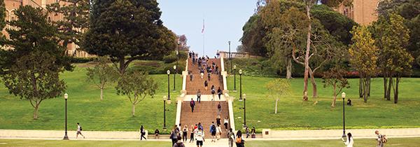 UCLA Janss Steps